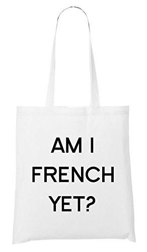 Am I French Yet Bolsa Blanco