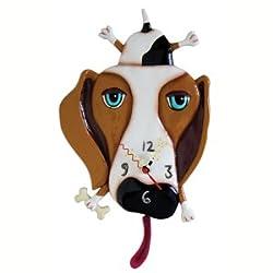 Buckley Dog Clock Allen Studio Designs