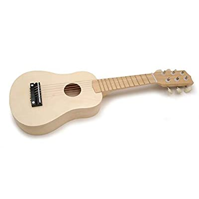 Darice Wood Guitar, 20-Inch, Unpainted: Toys & Games