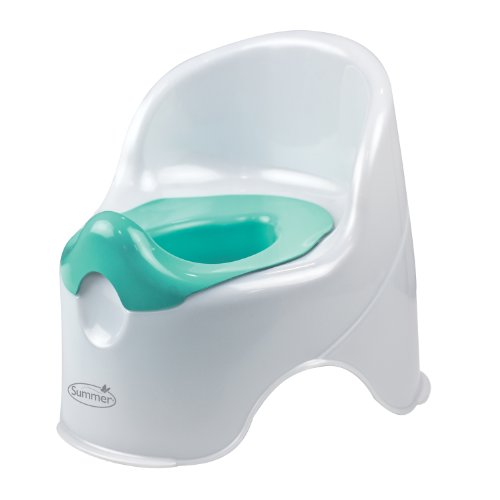 Summer Infant Lil' Loo Potty, White and Teal