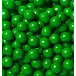 Sweetworks Dark Green Sixlets 1 lb Bag