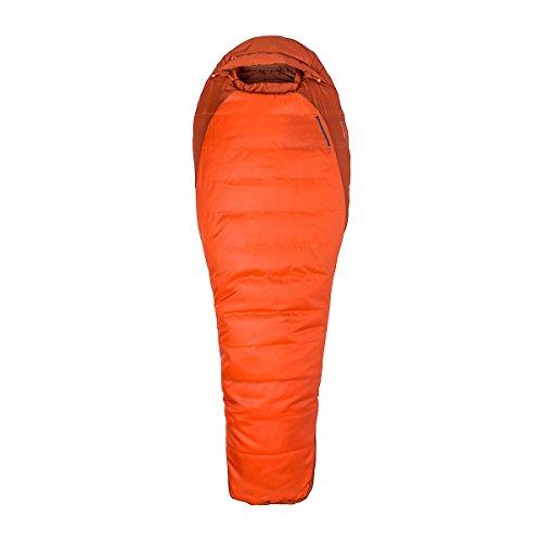 Marmot Trestles 0 Synthetic Sleeping Bag-Long-Left Zip/Orange Haze/Dark Rust by Marmot