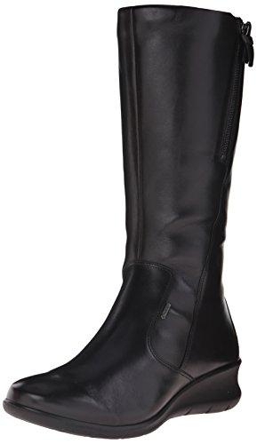 Nero Wedge black alla Caviglia 11001 Donna ECCO Babett Stivaletti Uw5Y77