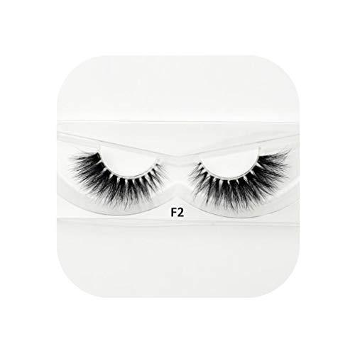 Mink Eyelashes Invisible Band Lashes Natural 3D Mink False Eyelash Full Strip Transparent band lashes cilios posticos,F2