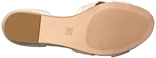 Nanetta Women's Espadrille White Off Klein Wedge Leather Sandal Anne O7q4wCx