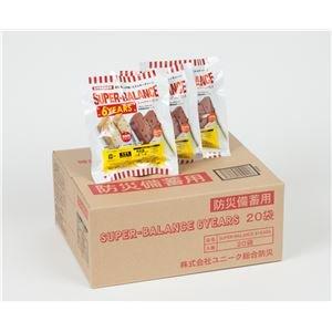 防災備蓄用食品 スーパーバランス 6YEARS (1箱20袋入) B07PHJN1QX