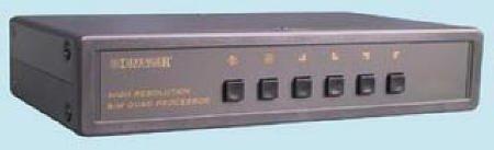 Defender Security 82-7850 B&W High Resolution Quad (B&w Quad Processor)