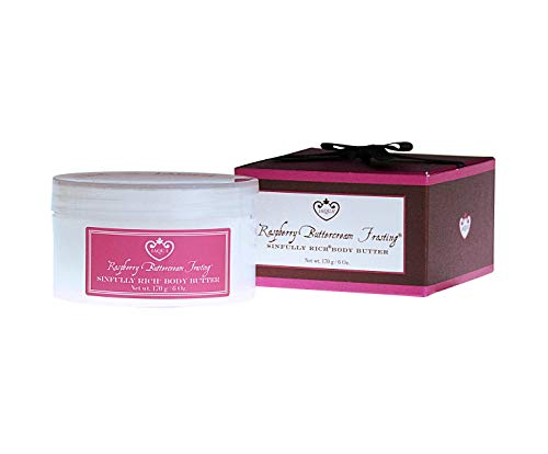 Jaqua Body Butter - Raspberry Buttercream Frosting Fragrance with Shea ()