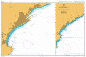 BA Chart 350: Italy – West Coast, Approaches to Savona and Vado. Savona and Vado by UKHO