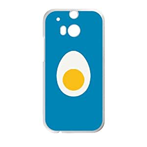 HTC One M8 Cell Phone Case White Egg RIN 3D Durable Cell Phone Case