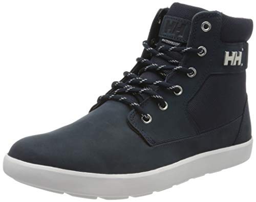 Helly-Hansen Men's Stockholm 2 Sneaker-Boot, 597 Navy/Off White, 10.5