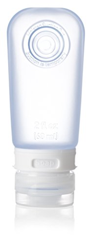 humangear GoToob Travel Bottles, 3-pack, Clear/Blue/Green, Medium (2 oz) by humangear (Image #4)