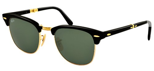 Image Unavailable. Image not available for. Color  Ray Ban Clubmaster  Folding RB2176 901 ... 1a8ea30ccb