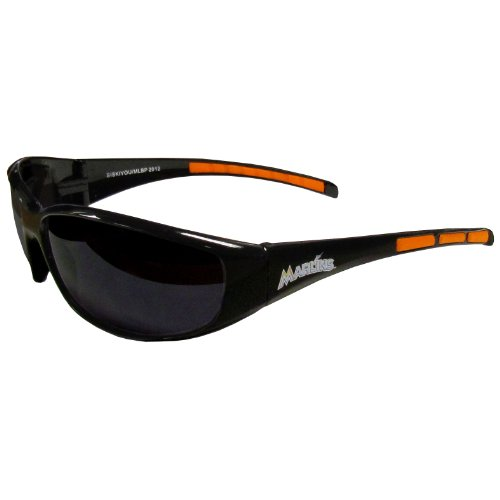Siskiyou Miami Marlins Wrap Sunglasses