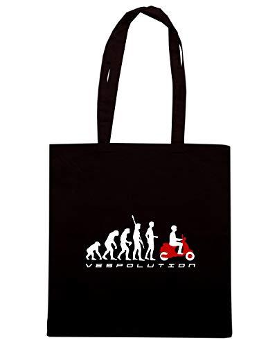 Nera OLDENG00487 Speed SCOOTER Borsa Shirt Shopper EVOLUTION qrItOI