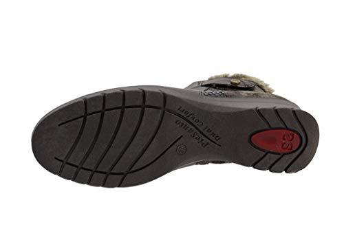 Caoba Cómodo Zapato 18 Natur Piesanto I 185973 Mujer Botín 8qw0qdU