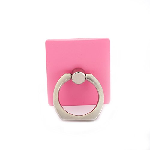 Kasio Universal Ring Phone Car Holder Mount and Stand for Iphone and any other kind phone,Tablets (pink)