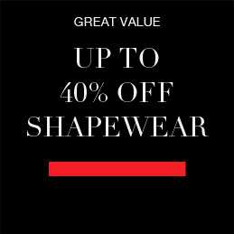 GREAT VALUE Up to 40% off Shapewear