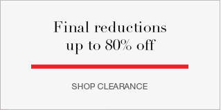 Final reductions up to 80% off
