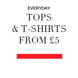 Everyday Tops and Tshirts from £5