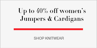 Up to 40% off Women's Jumpers & Cardigans