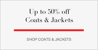 Up to 50% off Coats & Jackets