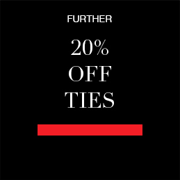 further 20% off ties