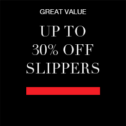 Up to 30% off Slippers