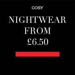 Nightwear from £6.50