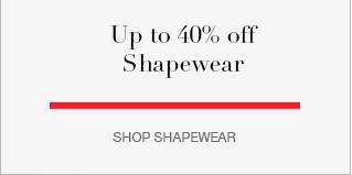 Up to 40% off Shapewear