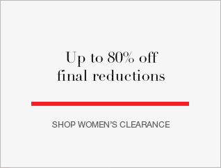 Up to 80% off final reductions
