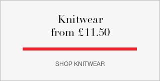 Knitwear from £11.50