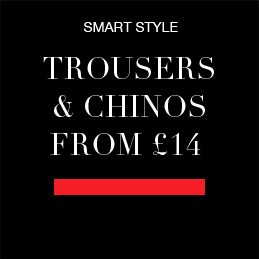 SMART STYLE Trousers & Chinos from £14