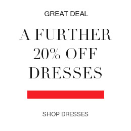 A further 20% off dresses