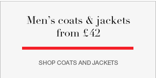 Men's coats & jackets from £42