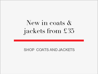 NEW IN coats and jackets from £35