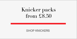 Knicker packs from £8.50