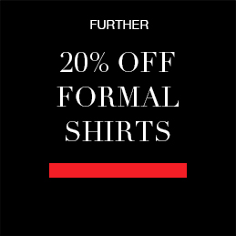further 20% off formal shirts