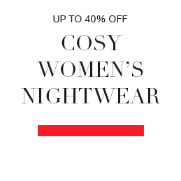 up to 40% off cosy womens nightwear