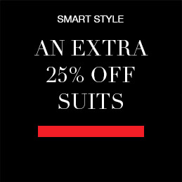 An Extra 25% off Suits