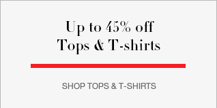 Up to 40% off Tops & Tshirts