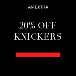 An extra 20% off knickers