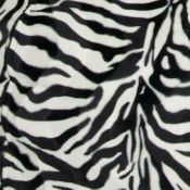 Zebra Bean Bag Chair Cover Swatch