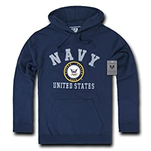 Amazon.com : Rapiddominance US Navy Pullover Hoodie : Camouflage ...