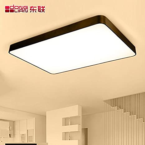 plano moderna lámpara techo minimalista post de LED uF1cl35TKJ
