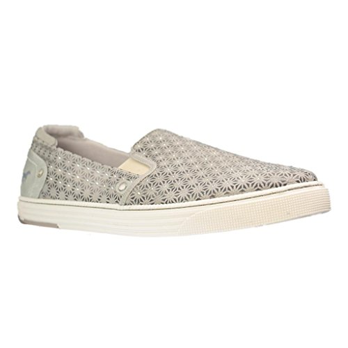 Mustang 1246-401, Slip On Mujer, Gris (243 Ivory), 38 EU