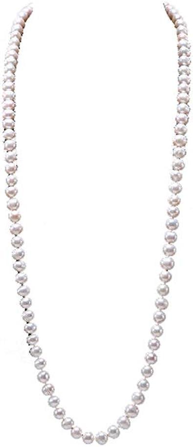 collier perle classique