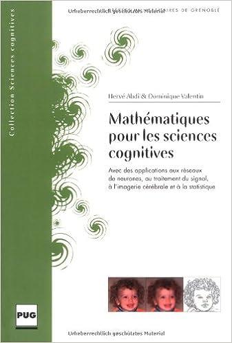 Mathématiques pour les sciences cognitives