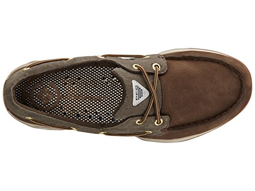 Columbia Boatdrainer Fly PFG, Mocasines para Hombre, Multicolor-Multicolor (Cordovan/Cafe), 47 EU