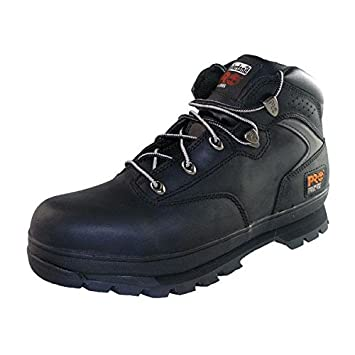timberland pro new euro hiker black safety boots